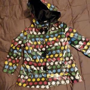 Me Jane Girls Rain Coat Size 6/6X